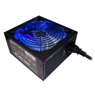 Replace Power RP-ATX-1000W-BL 1000W ATX Power Supply Blue LED