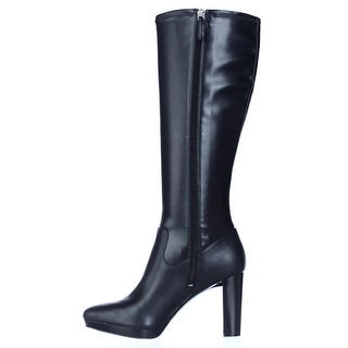 Nine West Womens Krayzie Closed Toe Knee High Fashion Boots