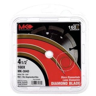 """MK Diamond 2068328 Diamond Saw Blade, 4-1/2"""""""