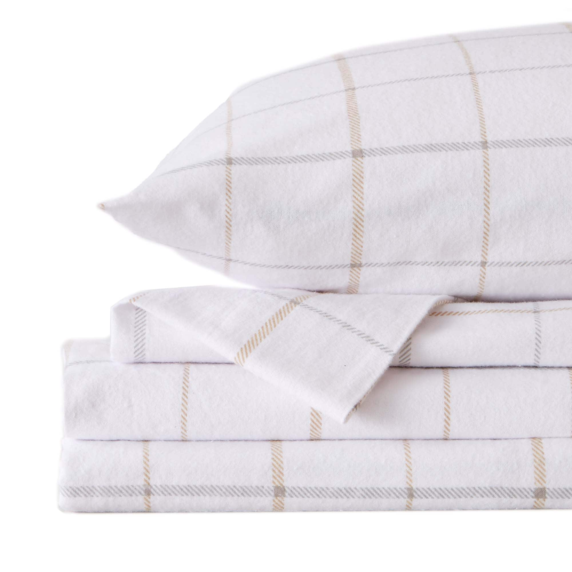 Great Bay Home Extra Soft Cotton Flannel Printed Bed Sheet Set Overstock 29237179