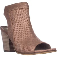naturalizer Yanni Heeled Zip Sandals, Rose Dust