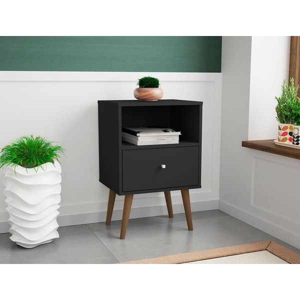 Liberty 1.0 Mid Century Modern 1 Drawer Nightstand. Opens flyout.