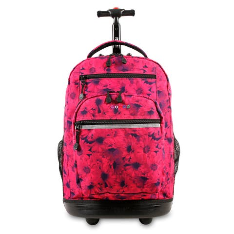 J World New York Sundance 20-inch Laptop Rolling Backpack - Fits up to 16-inch Laptop