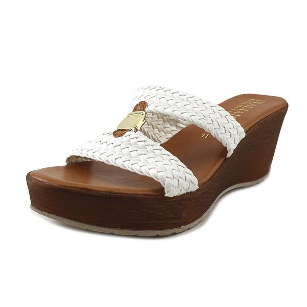 Italian Shoe Makers 5685S7 White Sandals