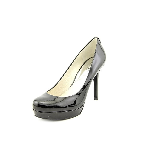 Michael Michael Kors Ionna Pump Round Toe Patent Leather Heels