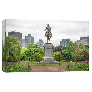 "PTM Images 9-103836  PTM Canvas Collection 8"" x 10"" - ""Washington Park"" Giclee Buildings and Cityscape Art Print on Canvas"
