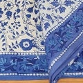 Handmade Floral Rajasthan Block Print Tablecloth 100% Cotton Rectangular Square Round Napkins - Thumbnail 10