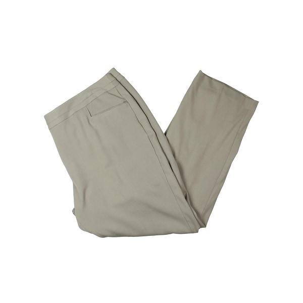 2b86a84fc17 Shop Rafaella Womens Plus Dress Pants Curvy Fit Slim Leg - Free ...