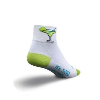 SockGuy Women's 2in Margarita Cycling/Running Socks - Size S/M - MARGAR
