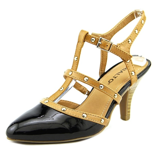 Rialto Mariella Women Pointed Toe Synthetic Black Heels