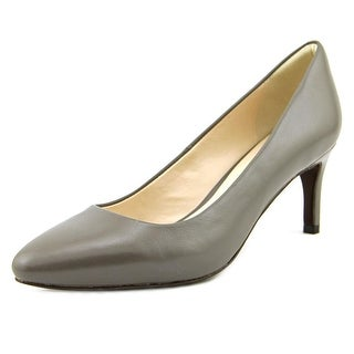 Cole Haan Clara Grand PMP 65MM Women  Pointed Toe Leather Gray Heels