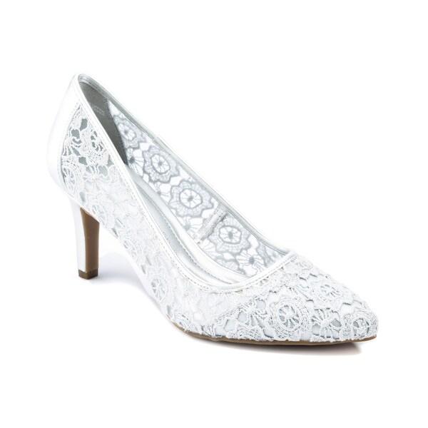 Andrew Geller Twilla Women's Heels White