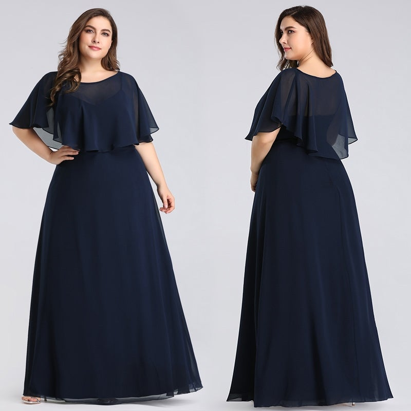 Ever-Pretty Women Plus Size Mother of the Bride Dresses 07762