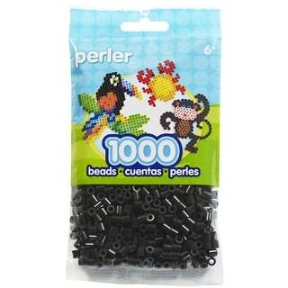 Perler Beads 1,000/Pkg-Black - Black