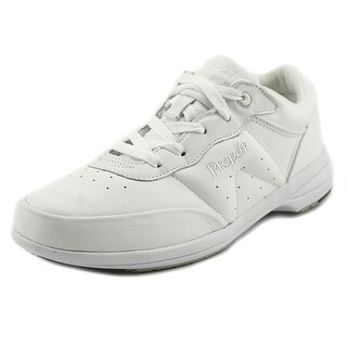 Propet Washable Walker 4A Round Toe Leather Sneakers