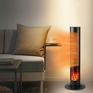 Link to Zenova Electric Space Heater, PTC With flame Heater Large Similar Items in Heaters, Fans & AC