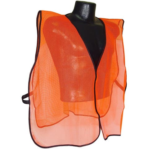 Radians SVO Non Rated Safety Vest Without Tape, Universal