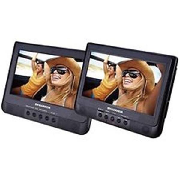 Sylvania SDVD1010 Dual-Screen DVD & Media Player - 10.1 in.