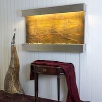 BluWorld Classic Quarry Horizontal Indoor Outdoor Wall Fountain Rainforest