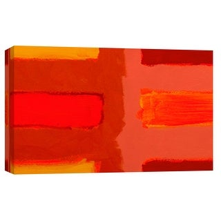"PTM Images 9-101810  PTM Canvas Collection 8"" x 10"" - ""Color Study 4"" Giclee Abstract Art Print on Canvas"
