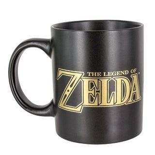 Nintendo The Legend of Zelda Link Hyrule Symbol Coffee Mug