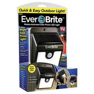 Ever Brite BRITE-MC Peel & Stick Motion-Sensor Solar LED Light, As Seen On TV