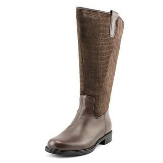 David Tate Best Women WW Round Toe Leather  Boot