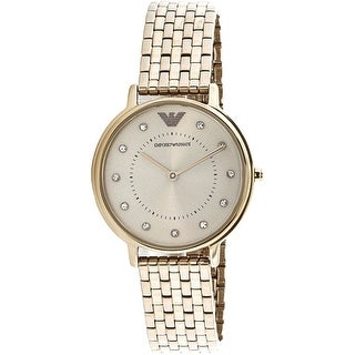 Emporio Armani Women's AR11062 Gold Stainless-Steel Fashion Watch