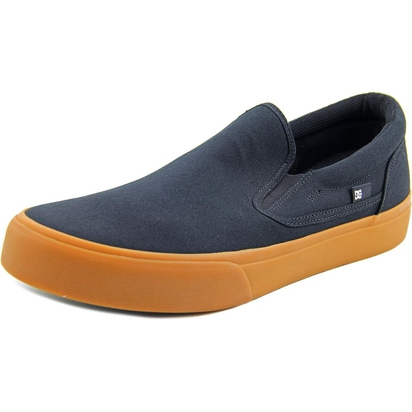DC Shoes Trase Slip-On Round Toe Canvas Skate Shoe