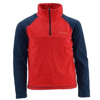 Columbia Boy's Glacial II 1/2 Zip Fleece Pullover