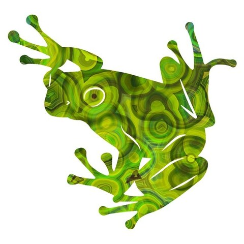 Next Innovations 101410022-ARABELLA 18 x 14 in. Arabella Frog Wall Art