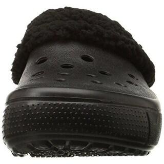 Crocs Boys Mammoth Faux Fur Clogs