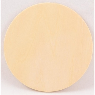 """Package Of 10, 1/8"""" Thick X 1.5 Inch Plywood Circle"""