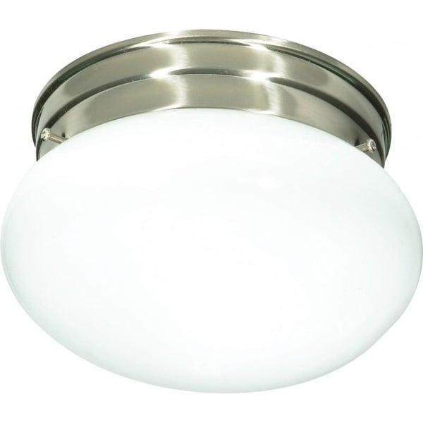 Nuvo Lighting 76/601 1 Light Flush Mount Indoor Ceiling Fixture - 7.5 Inches Wide