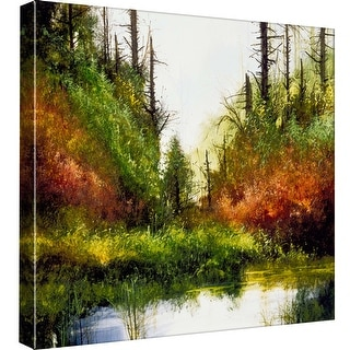"PTM Images 9-97795  PTM Canvas Collection 12"" x 12"" - ""Pine Canyon"" Giclee Forests Art Print on Canvas"