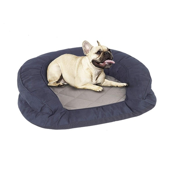 Astonishing Deluxe Ortho Bolster Sleeper Orthopedic Pet Bed Dog Bed Cat Bed Inzonedesignstudio Interior Chair Design Inzonedesignstudiocom