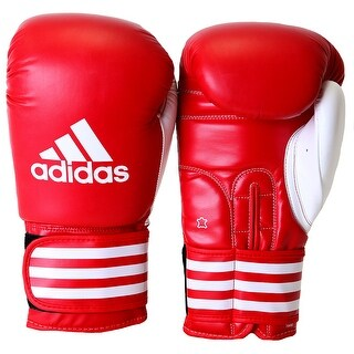 Adidas Ultima Competition Boxing Gloves - Red/White