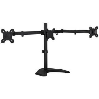 Mount-It! Triple Monitor Stand Freestanding Desk Mount