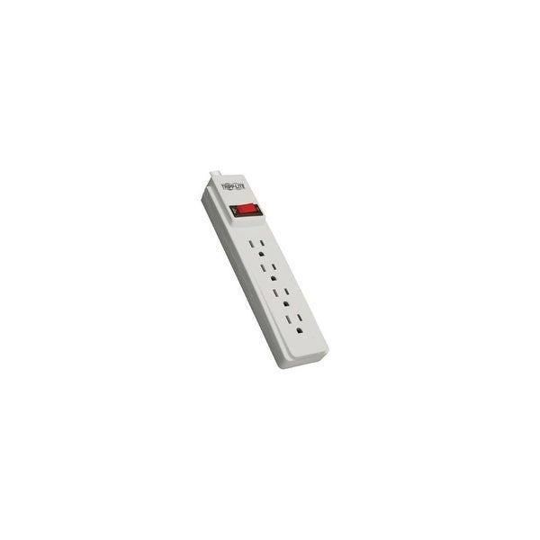 Tripp Lite QR9024 W TRIPP LITE PS410 Power Strip 120V 5-15R 4 Outlet 10-Ft Cord