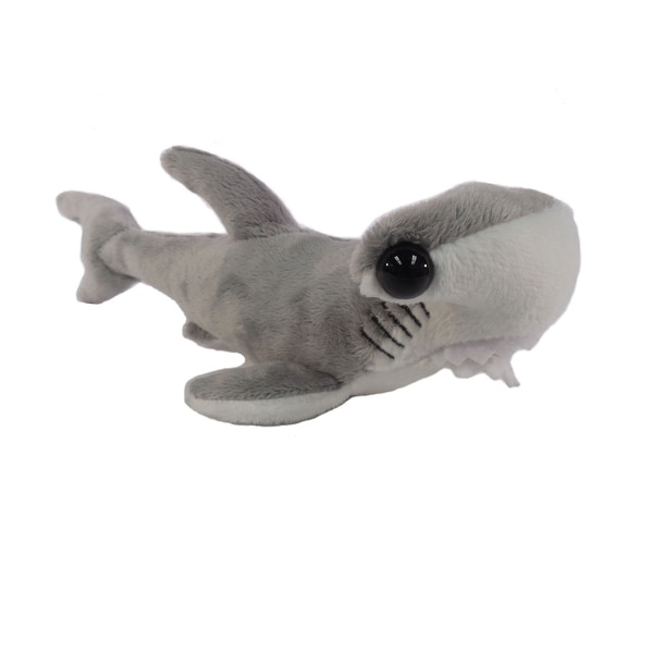 "Wishpets Unisex-Child Hammerhead Plush Toy 13"" Gray"