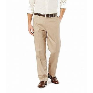 Link to Dockers Mens Pants Beige Size 42X32 Khaki Classic Wrinkle Free Stretch Similar Items in Big & Tall