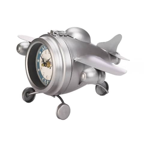 Aviation Desk Clock