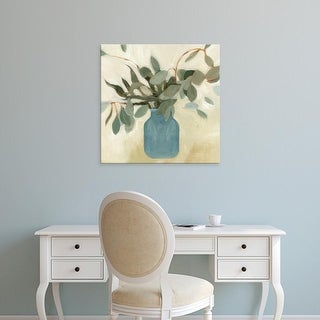 Easy Art Prints Emma Scarvey's 'Neutral Arrangement II' Premium Canvas Art