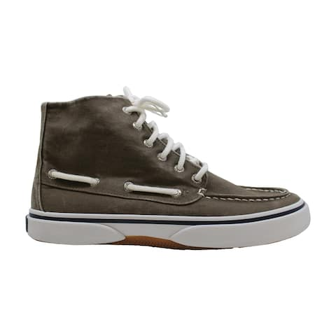 Sperry Mens halyard Fabric Round Toe Mid-Calf Fashion Boots - 7.5