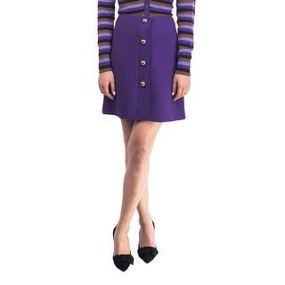 Prada Women's Virgin Wool Skirt Purple|https://ak1.ostkcdn.com/images/products/is/images/direct/f808b083e886d168d03e6077c6d78ad77a7341ab/Prada-Women%27s-Virgin-Wool-Skirt-Purple.jpg?impolicy=medium
