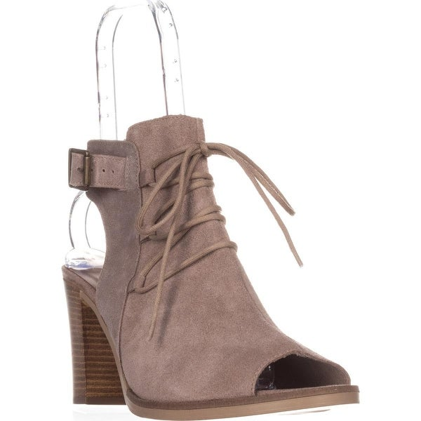 Bella Vita Pruitaly Peep Toe Sandals, Almond - 11 ww us