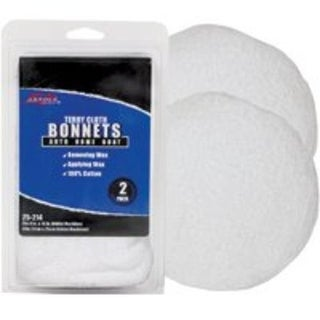 SM Arnold 25-214 Terry Cloth Polishing Bonnet