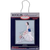 "Ballerina Counted Cross Stitch Kit-15.75""X19.75"" 14 Count"