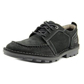 Caterpillar Wagner Men Moc Toe Leather Black Oxford