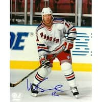 Mike Keane signed New York Rangers 8x10 Photo